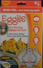 EGGIES (AS SEEN ON TV) NEW NIB Hard Boiled Egg System