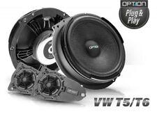 Option-Air VW T5/T6 Lautsprecher System Plug&Play Bulli Boxen 2-Wege Kompo 100W