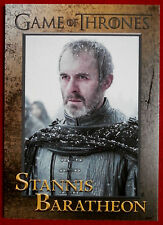 GAME OF THRONES - Season 5 - Card #45 - STANNIS BARATHEON - Rittenhouse 2016