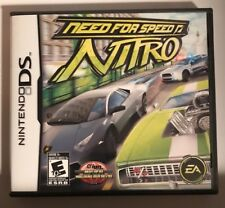 Need for Speed: Nitro (Nintendo DS, 2009) Case and Instructions Included