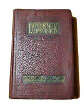Vintage Ducommun 1926 Tool Catalog Woodworking Metalworking Machinery Hardware