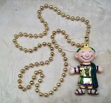 Endymion Mardi Gras Beads New Orleans Parading Society Design One
