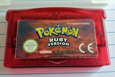 Authentic Pokemon Ruby for Nintendo GBA Gameboy Advance DS Used PAL Original