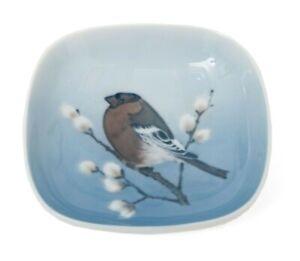 Royal Copenhagen Porcelain Birds Vide Poche Pin Dish Pyrrhula Pyrrhula Bullfinch