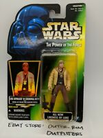 Kenner Star Wars Hologram Green Power Of The Force Ceremonial Luke Action Figure
