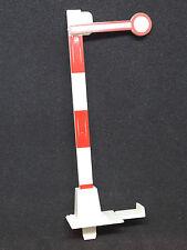 SEGNALE PASSAGGIO A LIVELLO STAZIONE TRENO PLASTICI FERROVIARI DIORAMI h. 94mm