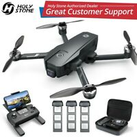 Holy Stone 4K EIS Camera Drone HS720E HS105 GPS Quadcopter 3 Batteries Brushless