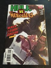 "Hulk Vs Hercules:When Titans Collide#1 Incredible Condition 9.0(2008)""Oneshot"""