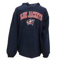 Columbus Blue Jackets Official NHL Kids Youth Size Hooded Sweatshirt New Tags