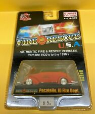 Racing Champions Fire Rescue Pocatello ID Fire Dept 1937 Ford Convertible Target