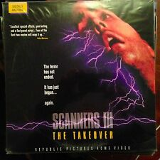 Scanners III / The Takeover  - LASERDISC  Buy 6 for free shipping