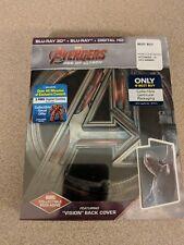 Avengers Edad de Ultron Blu-Ray 3D DVD Best Comprar Steelbook Vision Back Funda