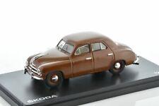 SKODA 1201 brown 1956 1/43 ABREX 143ABS-711RF