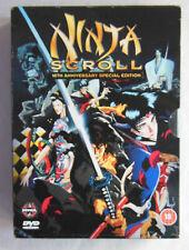 Ninja Scroll - 10th Anniversary Edition (DVD, 2004, 2-Disc Set, Box Set)