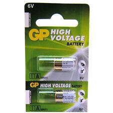 2 X GP 11A A11 E11A L1016 6V Alkaline Batteries