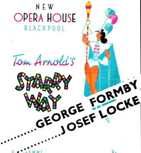 1946 George Formby Blackpool Opera House theatre programme Josef Locke magician