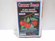 vintage CHERRY BOMB Brand Firecracker Pack Labels 16's