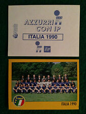 AZZURRI CON IP 1998 98 ITALIA 1990 SQUADRA Figurina Sticker Merlin NEW