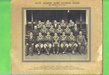 ORIGINAL 1964  NSW COUNTRY RUGBY LEAGUE FIRST REPRESENTATIVE TEAM PICTURE