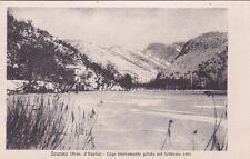 * SCANNO - Lago interamente gelato nel Febbraio 1901