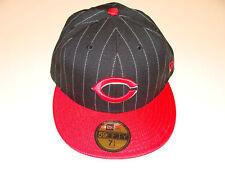 Cincinnati Reds New Era Hat Cap 7 1/2 PInballa Stripe