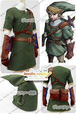 The Legend of Zelda Zelda Link Cosplay Costume Ver.2