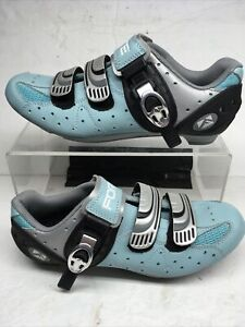 Forte Womens Cycling Shoes Light Blue Us Size 6.5 Euro 39