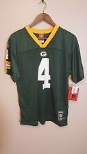 Green Bay Packers NFL Reebok #4 Favre Players Inc Football Jersey Youth Size XL
