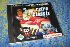 Retro Classix C 64 Amiga Atari 1200 Spiele für PC HOT 4 Systeme für PC neuw.