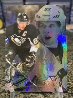 2012-13 Fleer Retro Sidney Crosby Flair Showcase Foil Refractor Insert SP!!!