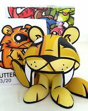 "3"" FINDERS KEEPERS JOE LEDBETTER JLED YELLOW CUTTER 2/20 KIDROBOT 2007 TOY VINYL"