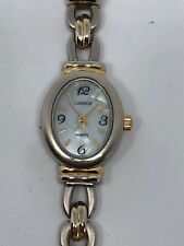 Working Ladies Gold and Silver Carriage by Timex Watch AM