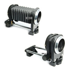 Soufflet Macro Extension Tube Allonge pour Appareil Photo Monture Canon EOS