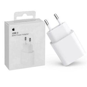 USB-C Original Ladegerät Apple iPhone 12 Mini Max Pro Netzteil Power Adapter 20W