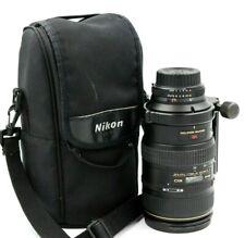 Nikon ED AF VR-Nikkor 80-400mm f/4.5-5.6 D Lens W/ Case + Upgraded Tripod Mount