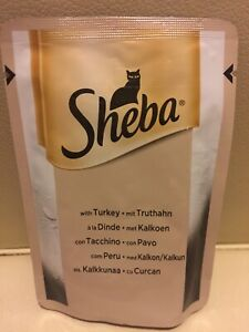Sheba Fresh Choice in Gravy with Turkey Poultry Meats 40g
