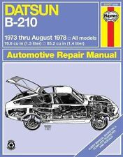Datsun 120Y Owners Manual - 1973 to 1975 : 1171 cc , Saloon, Coupe & Estate