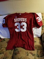 OKLAHOMA SOONERS JERSEY - 3XL - THROWBACK - RUSSELL ATHLETIC