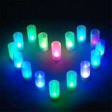 Electronic LED Candle 7-color Cup Mood Lamp Electronic Flameless Festival Candle