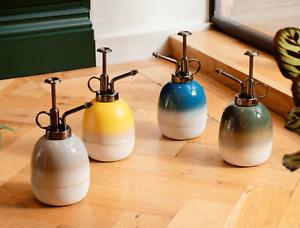 Sass & Belle Ceramic Mojave Glaze Plant Mister Indoor Water Spray Sprayer