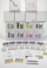 Kidrobot for Swatch - Vinyl Dunny/Watch Sets Collectible Complete Set of 8 !!