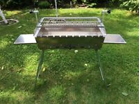 Mangal IDEAL 2 mm Edelstahl Grill BBQ Standgrill Мангал mit Grillrost