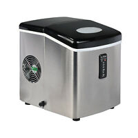 Smeta Under Counter Compact Ice Maker 33lbs/Day Output Commercial Ice Machine