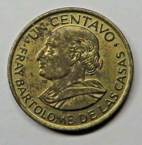 Guatemala Centavo 1968 Brass KM#265 UNC