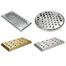 Drip Tray Stainless Steel/Brass Professional Barware Drink Tray