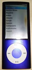 Apple iPod nano a1320 purple 8GB 5TH GENERATION -  Faulty display