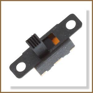 Miniature On/Off 3-Pin Slide Switch SPDT (2pcs) or (5pcs)