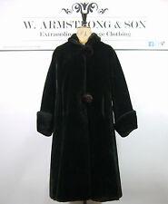 Women's 1950s Faux Fur Basic Vintage Coats & Jackets