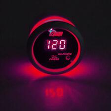 52mm Auto Rot Digital LED Öldruck Anzeige Instrument Instrumente Öldruckanzeiger