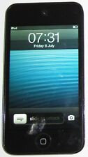 APPLE IPOD TOUCH 4TH GEN 32GB  A1367-  BLACK BACK WARN